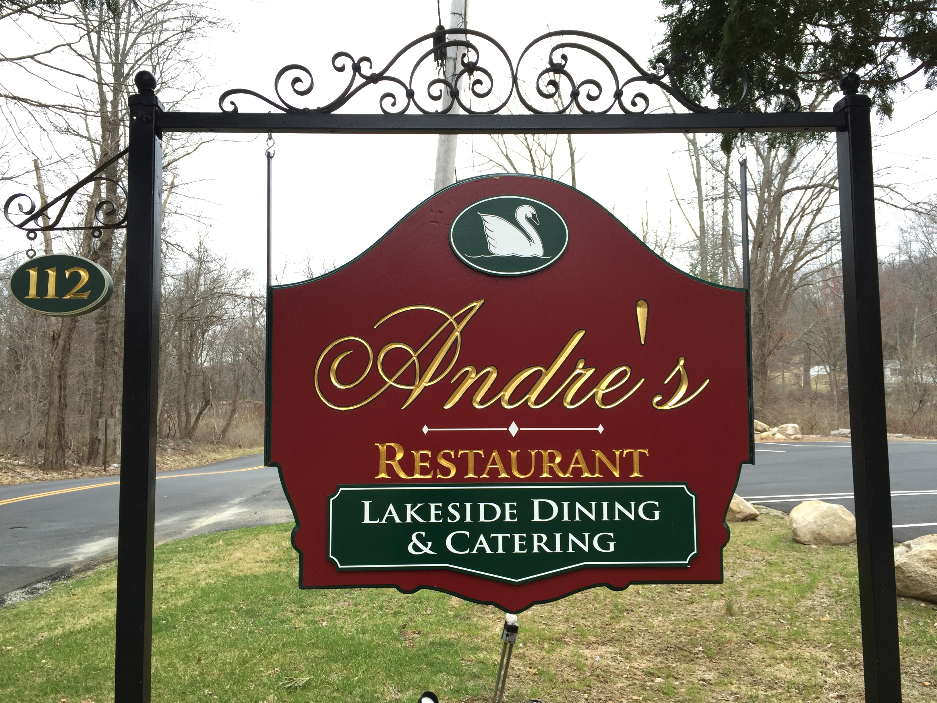 Andre's Restaurant is the current tenant of th commercial property on the lake.